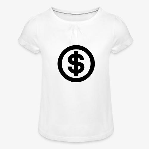 marcusksoak - Pige T-shirt med flæser