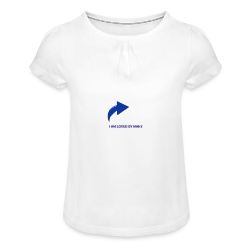 1527348336103 - T-shirt med rynkning flicka