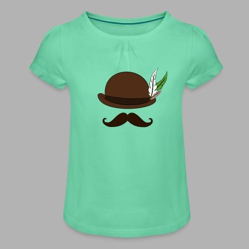 Captain's Logo - T-shirt à fronces au col Fille