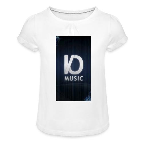 iphone6plus iomusic jpg - Girl's T-Shirt with Ruffles