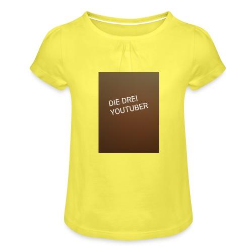 Nineb nb dani Zockt Mohamedmd - Mädchen-T-Shirt mit Raffungen