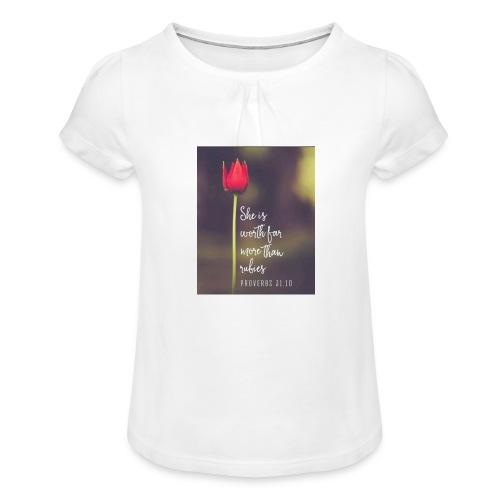 IMG 20180308 WA0027 - Girl's T-Shirt with Ruffles
