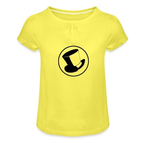 GLASS HAT - Camiseta para niña con drapeado