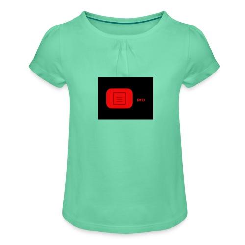 NFD-COOL/EDITION - Tyttöjen t-paita, jossa rypytyksiä