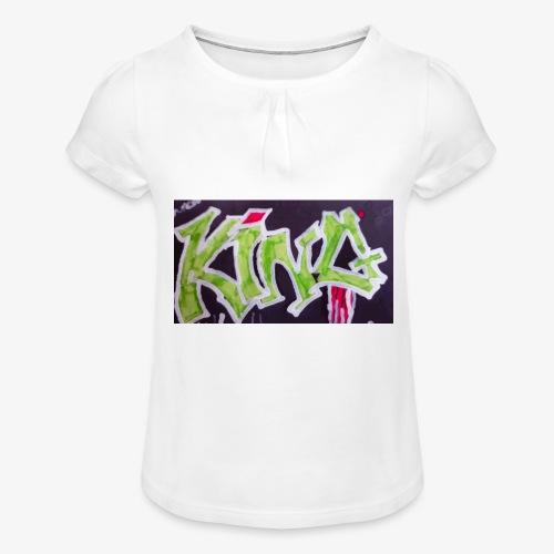 15279480062001484041809 - T-shirt à fronces au col Fille