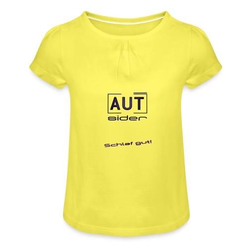 Avatarp png - Mädchen-T-Shirt mit Raffungen