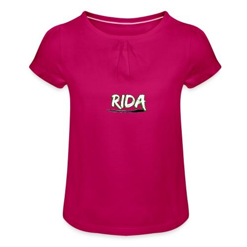 Rida Limited Edition T-Shirt! - Meisjes-T-shirt met plooien