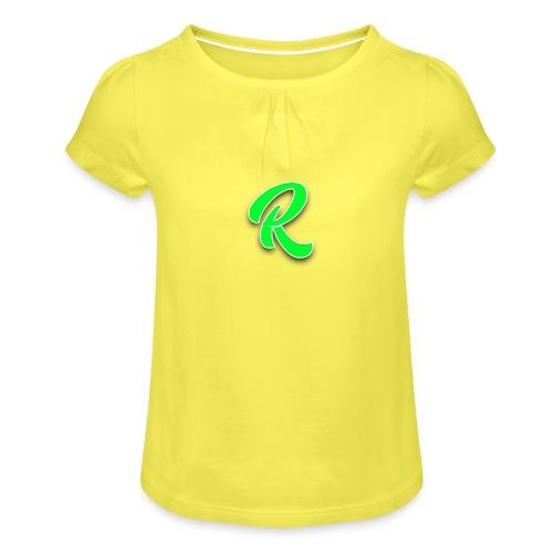 Ridaatje T-Shirt Nieuw! - Meisjes-T-shirt met plooien