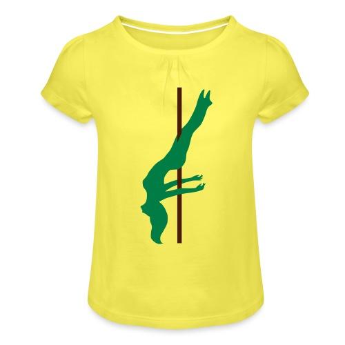 Pole Dance Pole Dancing - Maglietta da ragazza con arricciatura