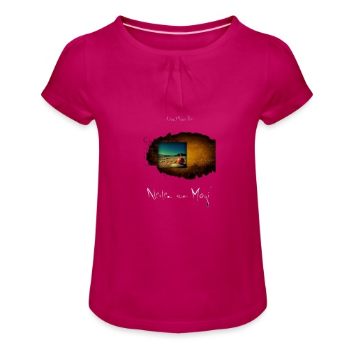 Nesten som magi - Jente-T-skjorte med frynser