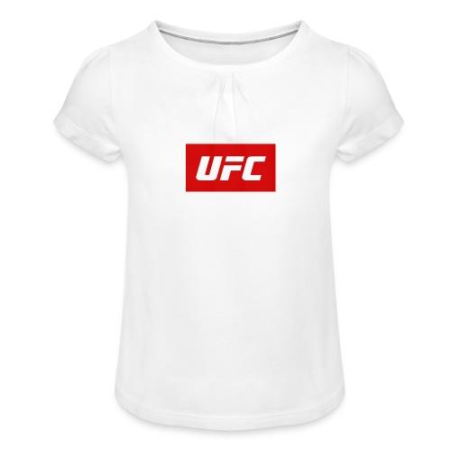 Screenshot 20190101 071654 2 - T-shirt à fronces au col Fille