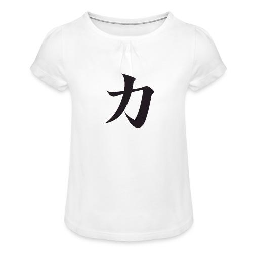 Katana - T-shirt à fronces au col Fille