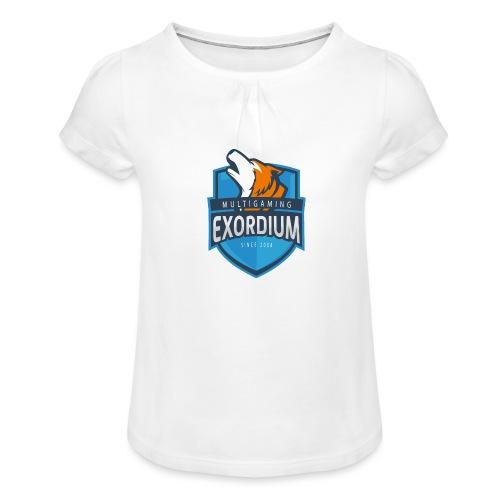 Emc. - Mädchen-T-Shirt mit Raffungen