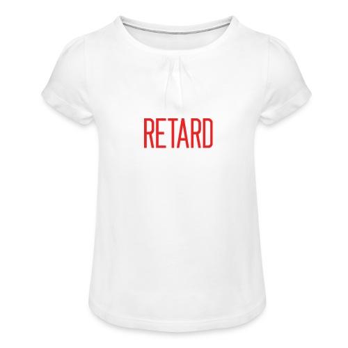 Retard Klær - Jente-T-skjorte med frynser