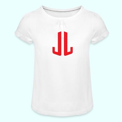 BodyTrainer JL - Tyttöjen t-paita, jossa rypytyksiä