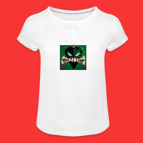 Delirious Music Productions - Girl's T-Shirt with Ruffles