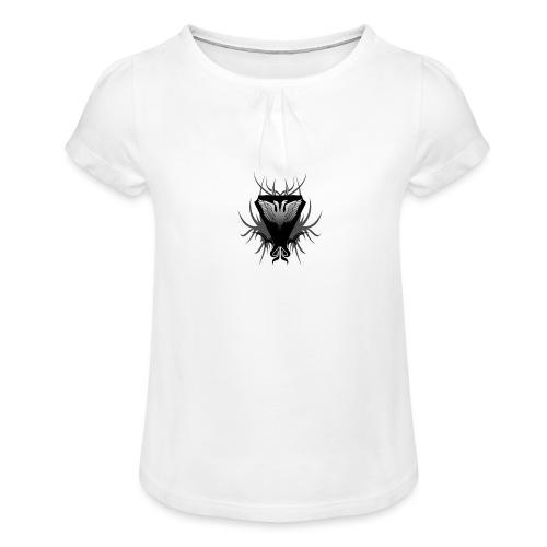 Unsafe_Gaming - Meisjes-T-shirt met plooien