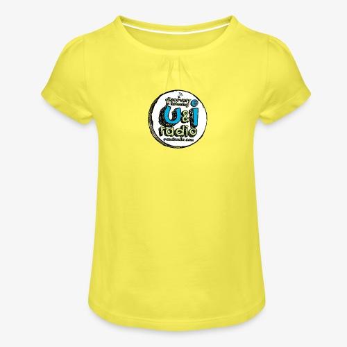 U & I Logo - Girl's T-Shirt with Ruffles