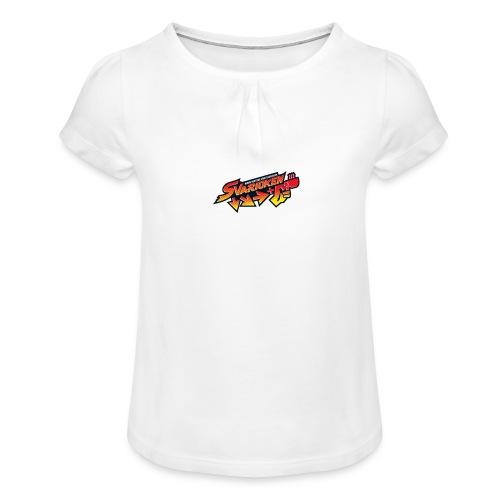 Spilla Svarioken. - Maglietta da ragazza con arricciatura