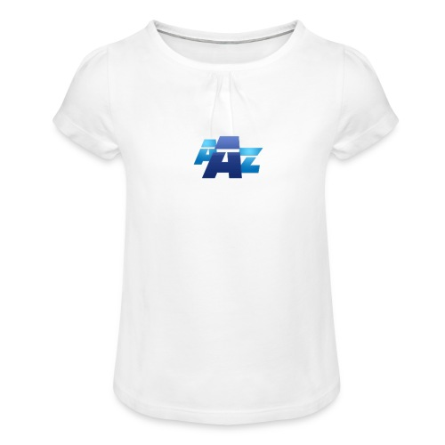AAZ design - T-shirt à fronces au col Fille