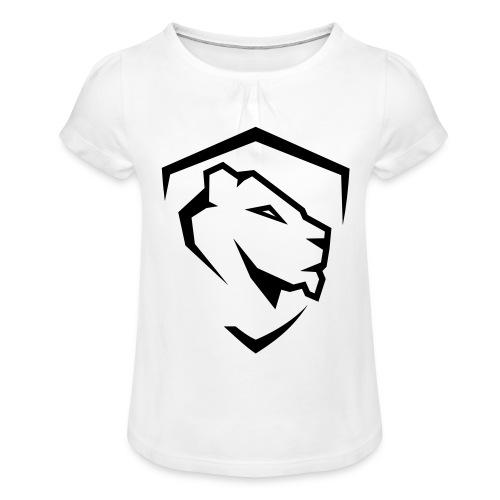 Aesthetics - Koszulka dziewczęca z marszczeniami