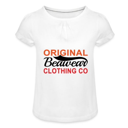 Original Beawear Clothing Co - Girl's T-Shirt with Ruffles