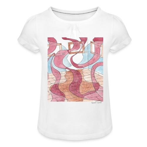 Internal Dialogue - T-shirt à fronces au col Fille