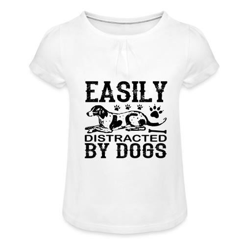 Easily - Mädchen-T-Shirt mit Raffungen