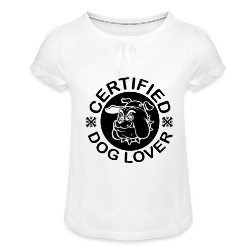 Certified - Mädchen-T-Shirt mit Raffungen