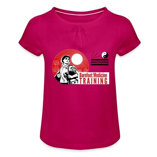 Barefoot Forward Group - Barefoot Medicine - Girl's T-Shirt with Ruffles