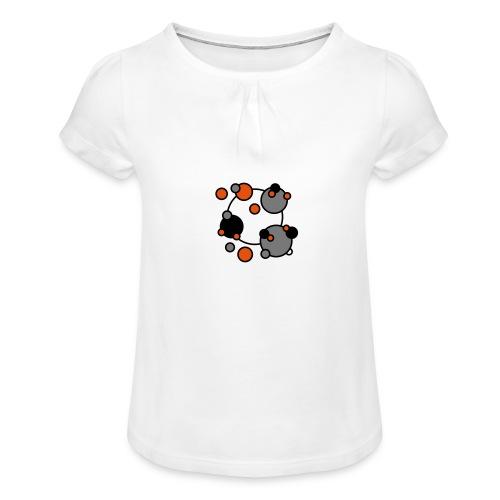Cosmos Rmx - Camiseta para niña con drapeado