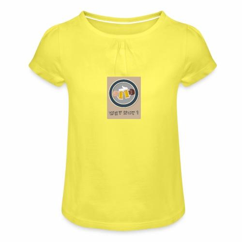 WHY NOT ? (WN) - T-shirt à fronces au col Fille