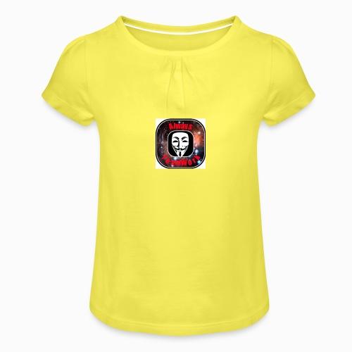 Always TeamWork - Meisjes-T-shirt met plooien