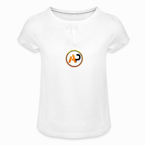aaronPlazz design - Girl's T-Shirt with Ruffles