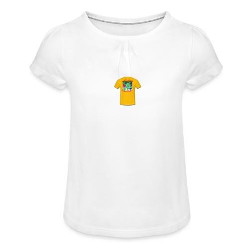 Castle design - Pige T-shirt med flæser