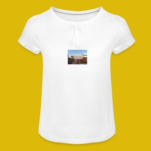 Evasion - T-shirt à fronces au col Fille