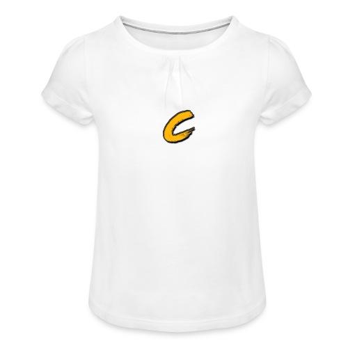 Chuck - T-shirt à fronces au col Fille
