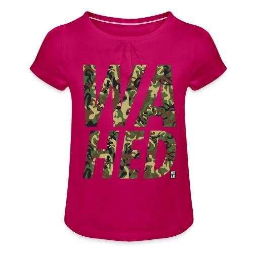 WAHED - Meisjes-T-shirt met plooien