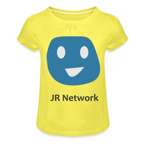 JR Network - Girl's T-Shirt with Ruffles