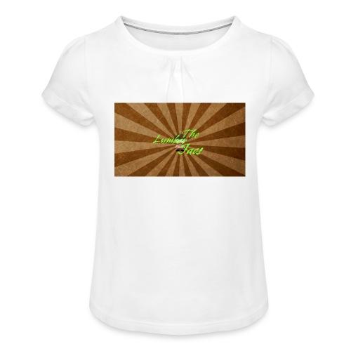 THELUMBERJACKS - Girl's T-Shirt with Ruffles