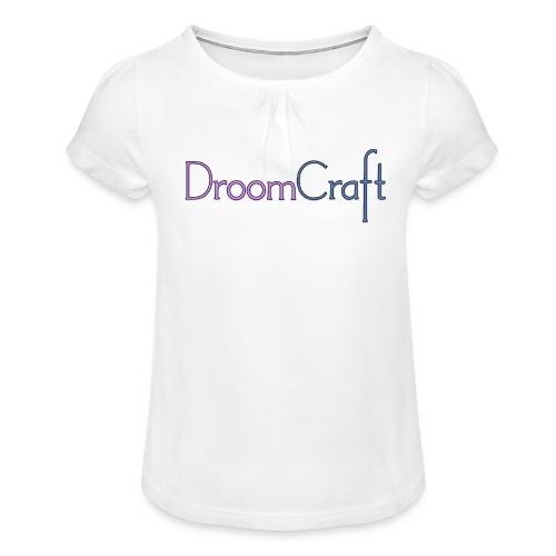 DroomCraft - Meisjes-T-shirt met plooien