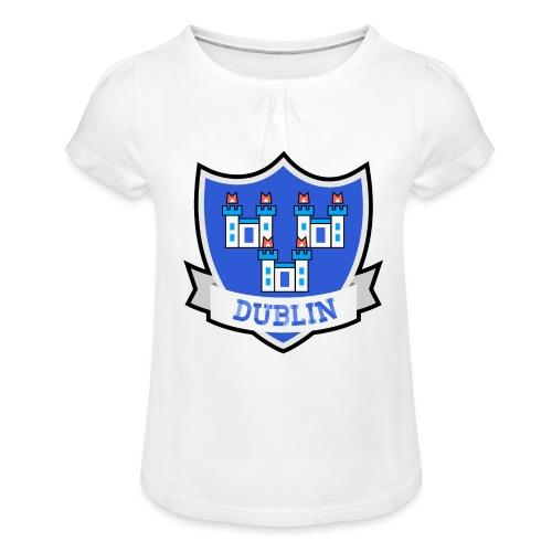 Dublin - Eire Apparel - Girl's T-Shirt with Ruffles