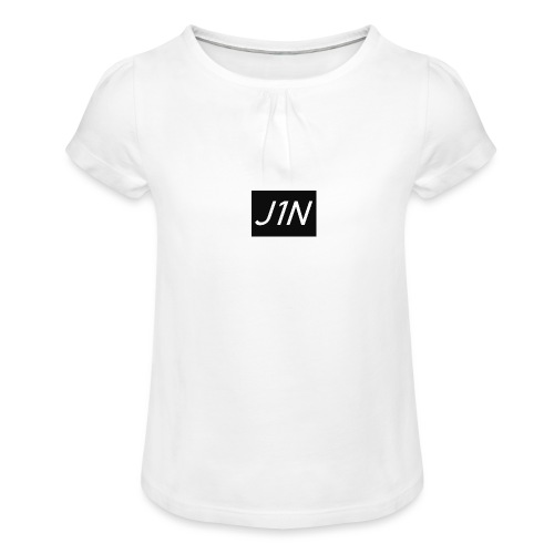 J1N - Girl's T-Shirt with Ruffles