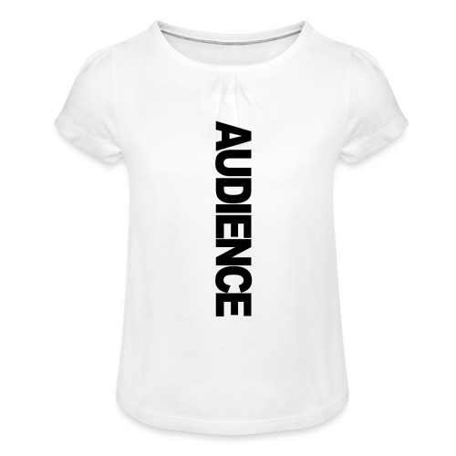audienceiphonevertical - Girl's T-Shirt with Ruffles