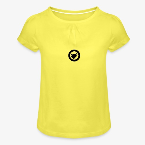 LOOVE (SS18) - Maglietta da ragazza con arricciatura