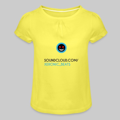 XERONIC LOGO - Girl's T-Shirt with Ruffles