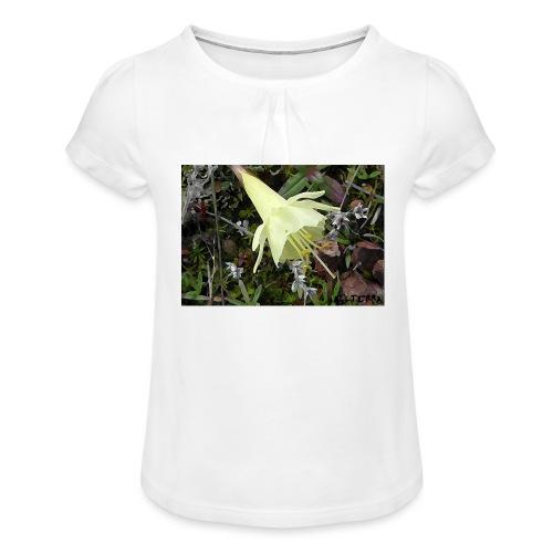 Naturaleza - Camiseta para niña con drapeado