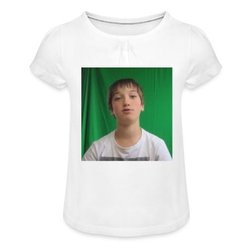 Game4you - Meisjes-T-shirt met plooien
