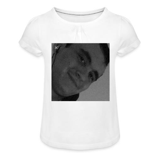 Miguelli Spirelli - T-shirt à fronces au col Fille