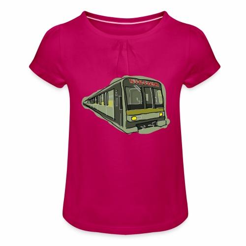 Urban convoy - Maglietta da ragazza con arricciatura